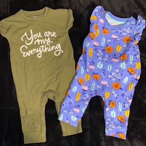 BABY GIRL DUO JUMPSUITS
